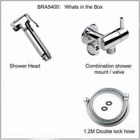 BRA5400: Shower and combination mount