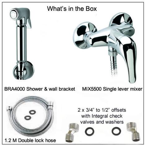 KIT5500: Warm Water Bidet Shower Kit