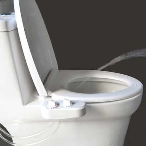 HYG-710: Non electric hot / cold water under seat bidet washlet