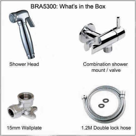 BRA5300: Shower and combination mount