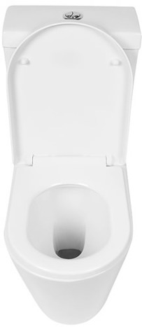 KAI-CCP0: White Close Coupled Toilet