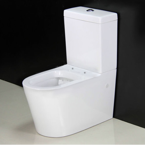 Kai Ccp0 White Close Coupled Toilet