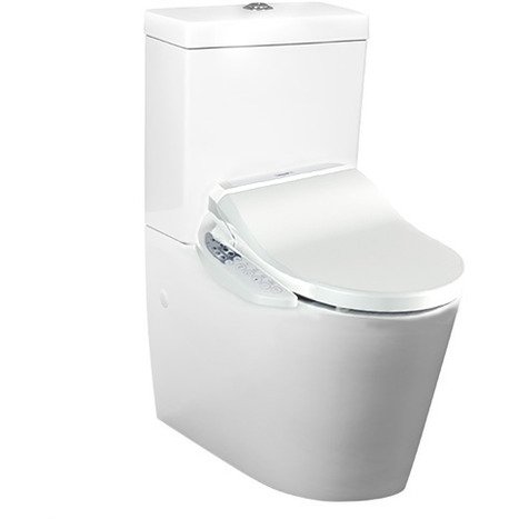 CCP-7235-SH: Wash and dry shower toilet