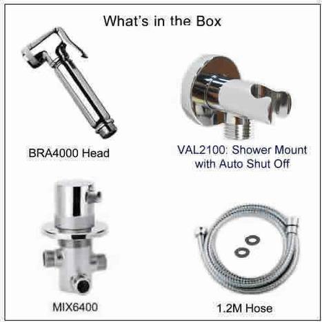 KIT6500: Thermostatically Controlled Bidet Shower Kit
