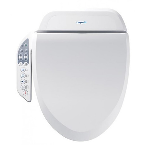 Terrific Ub 7235Rl Electronic Bidet Toilet Seat Elongated Style Pabps2019 Chair Design Images Pabps2019Com