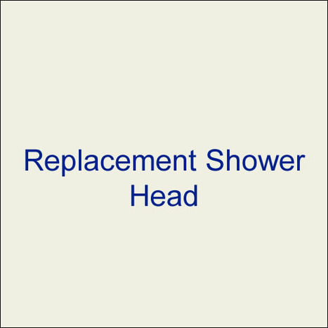 Replacement Shower Head Only: MET1900