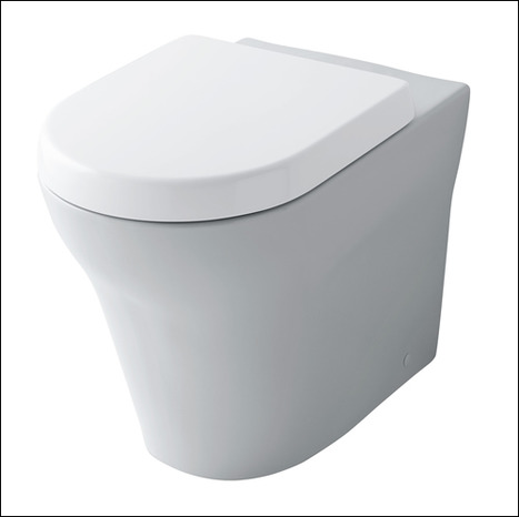 Toto MH Series WC back-to-wall floor standing Toilet pan