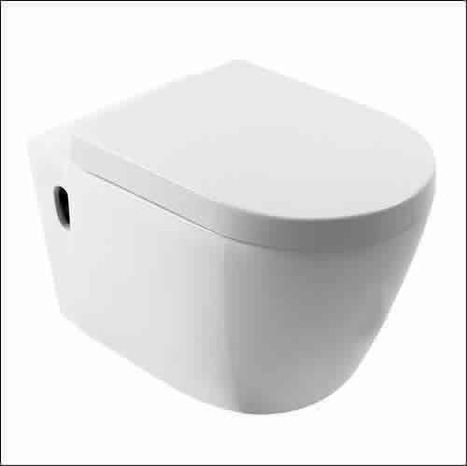AS-WHU-550: Wall hung toilet bowl