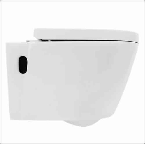 ASW7000: Wash / Dry  remote controlled wall hung shower toilet