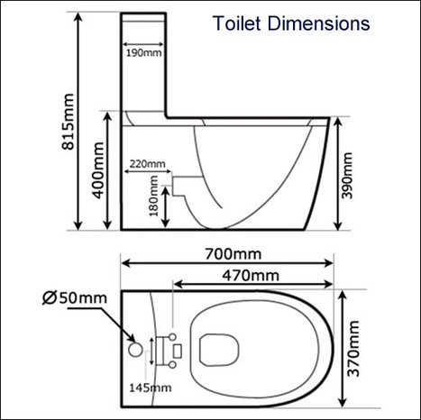 BTP-I4CCPO: White Close Coupled Toilet