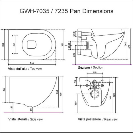 GWH-7035: Bidet Toilets