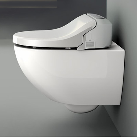 Sfr 7035 Rimless Washing Shower Toilet With Remote Control