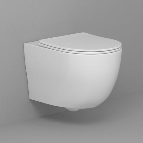 AS-SFR-540: Wall hung rimless toilet bowl