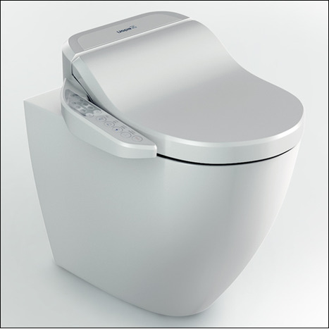 GFR-7235: Rimless Wash and Dry Shower Toilet