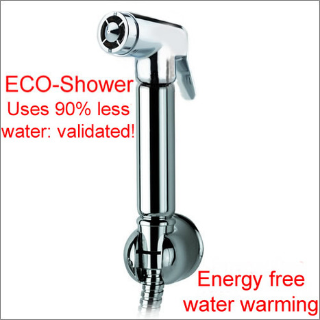 ATM4000: ECO Bidet shower with smooth handle