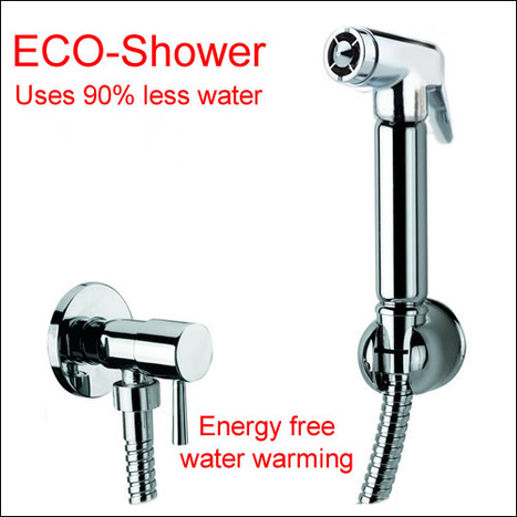 ATM4500: ECO Bidet shower with water isolation valve