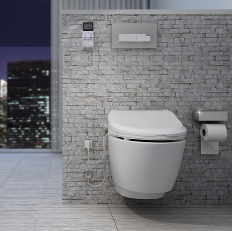 Nic7000 Electronic Toilet And Bidet