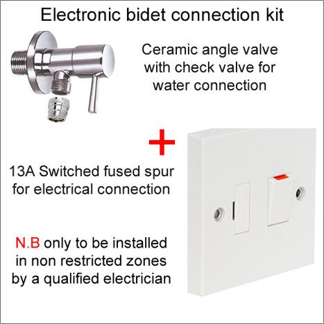 CXN-1000 Connection kit electronic bidet