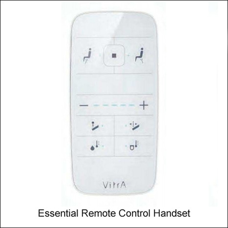 VitrA Essential replacement remote