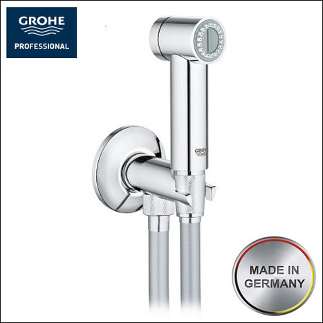grohe sena bidet shower set. Black Bedroom Furniture Sets. Home Design Ideas