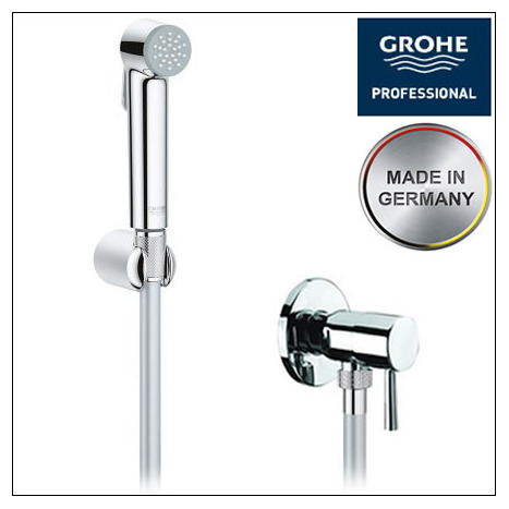 Grohe tempesta f bidet shower set for Unterschied grohe hansgrohe