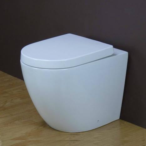 GFS-1000 Floor standing back to wall toilet