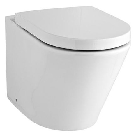 GFR-1000 Rimless floor standing back to wall toilet