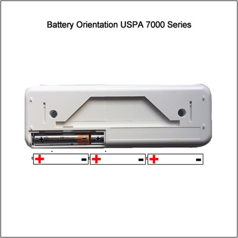 Remote Control Unit USPA 7000 Series