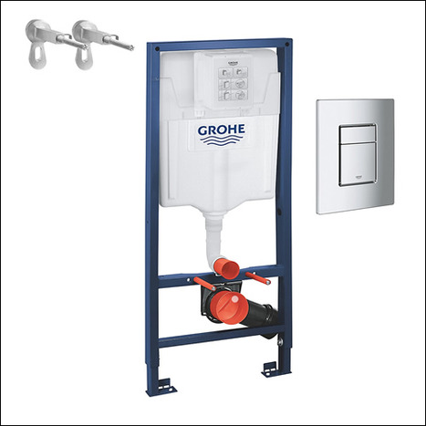 Grohe Rapid SL 3 in 1 set for Wall hung WC