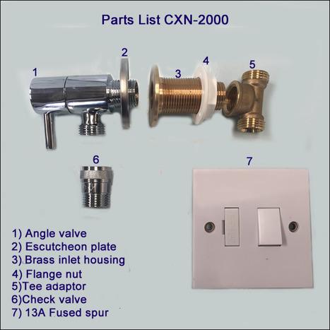 CXN-2000 Marble and ceramic adaptor