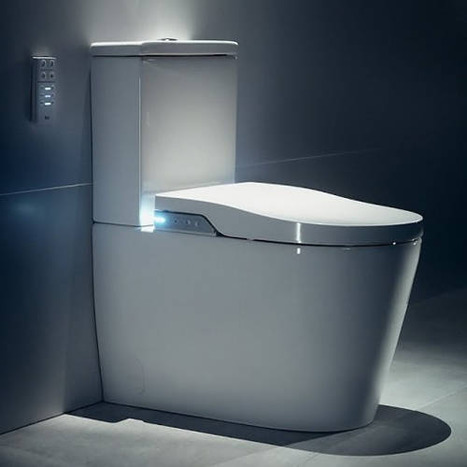 Roca Inspira In-Wash® - Close Coupled Smart Bidet Toilet