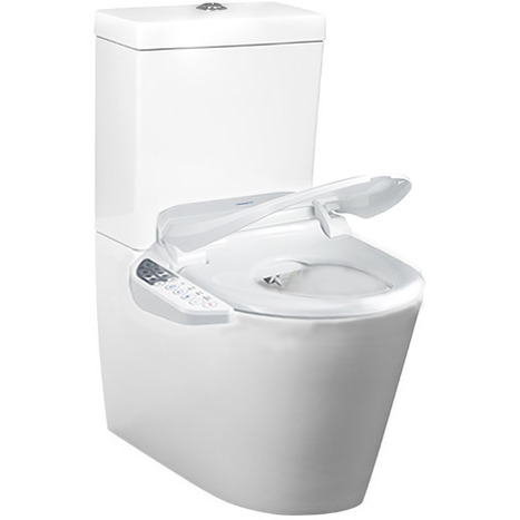 CCP-7235-CH: Comfort Height Wash and dry shower toilet