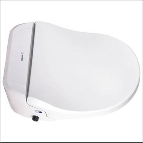 CCP-7035-CH: Extra High Comfort Height Bidet Shower Toilets