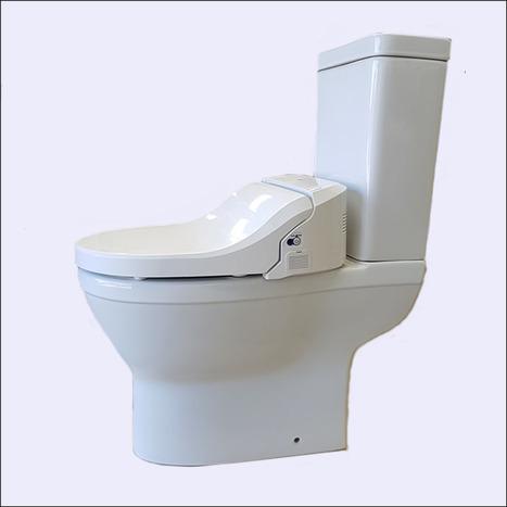 CCP-7235-CA Back to wall bidet toilet open back