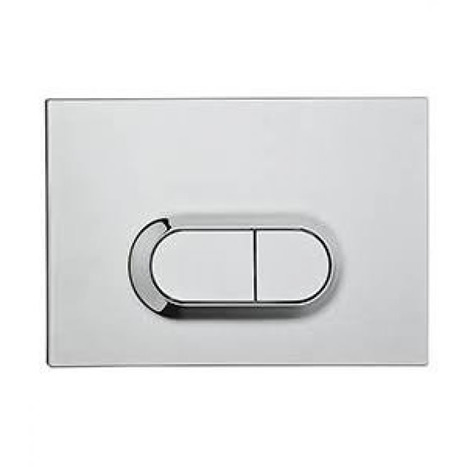 Vitra Loop O Mechanical Dual Flush Control - Chrome