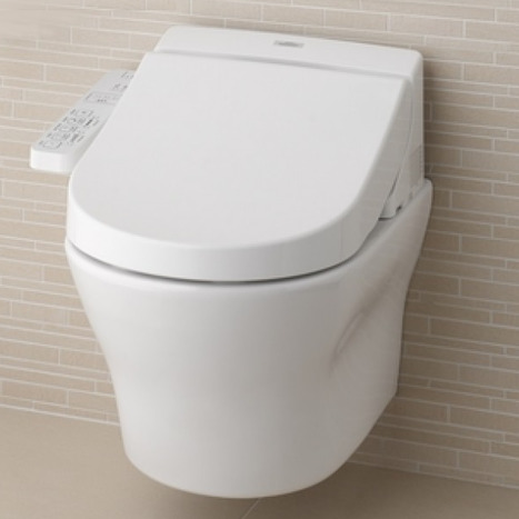 Toto Washlet EK with Wall Hung Pan and Hidden Connections