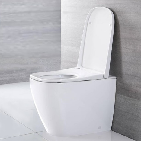 GBV-7035: Monolith Close Coupled Smart Japanese Shower Toilet