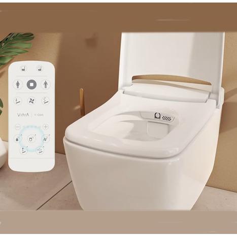 Vitra V-Care Prime Rim-Ex Smart Wall Hung Bidet Shower toilet