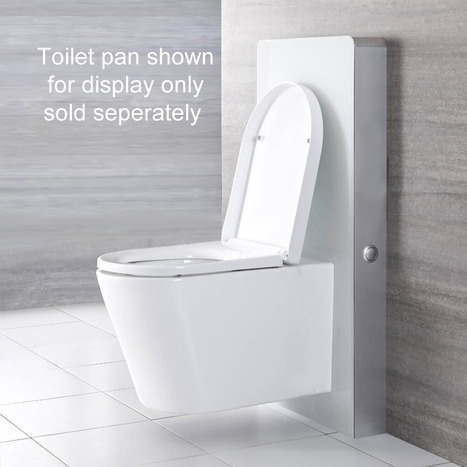 Touchless Cabinet Cistern For Wall Hung Toilets In Alpine White