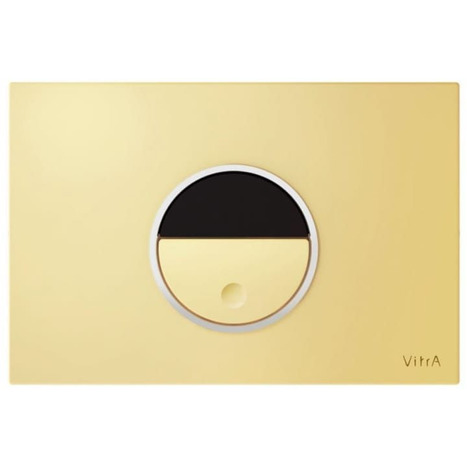 Vitra Pro Photocell Auto Flush Plate: Gold