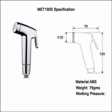 MET1900: Bidet Spray
