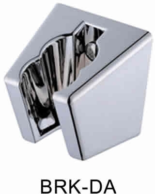 BRK-DA: Angular style shower wall bracket mount