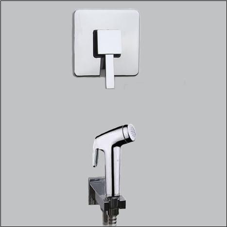 KIT4500: Warm Water Bidet Shower
