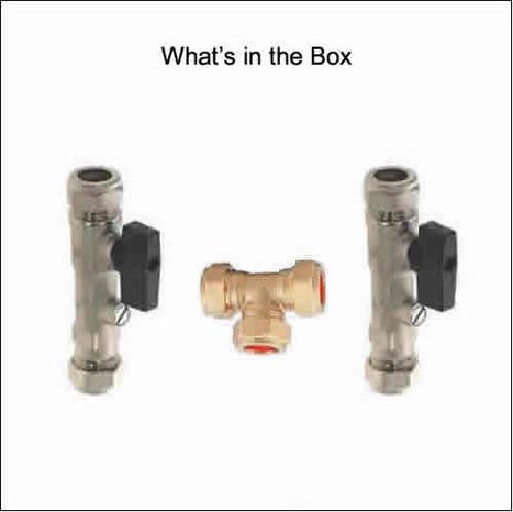 MIX2300:Pre-set Warm Water Blending Kit