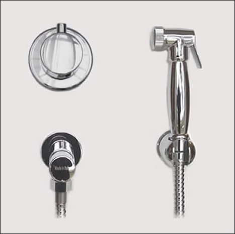 KIT6550: Thermostatically controlled bidet shower with timed water shut off