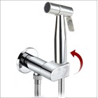KIT6180: Pre-Set Thermostatic bidet shower kit with auto prompt water shut off valve