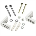 FFX-100: WC Toilet pan floor fixing kit