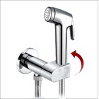 KIT1700: Pre-Set manual temperature bidet shower kit with auto prompt water shut off valve