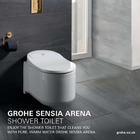 Grohe Sensia Arena Wall Hung Shower Toilet