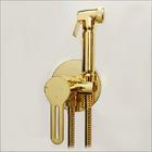KIT6530: Italian Warm Water Eco Bidet Shower Kit in 22ct Gold Plated Finish